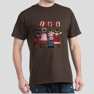 Valentine Kisses Dark T-Shirt