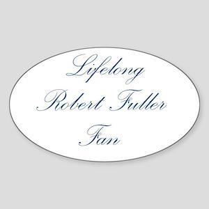 ROBERT FULLER Oval Sticker