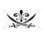 Fleur De Lis Pirate Banner