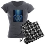 Winged Lion Women's Charcoal Pajamas