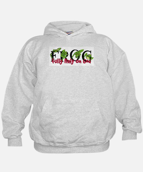 FROG: Fully Rely on God Hoodie