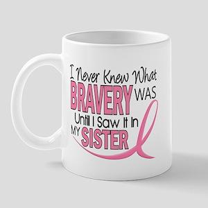Bravery (Sister) Breast Cancer Awareness Mug
