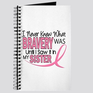 Bravery (Sister) Breast Cancer Awareness Journal