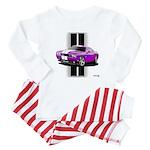 New Dodge Challenger Baby Pajamas