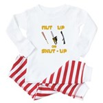 Baby Baby Pajamas - White, Pink, or Blue