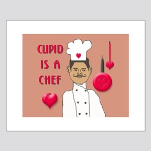 CUPID IS A CHEF Small Poster