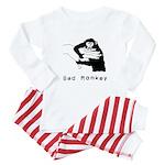 Monkey Day bad monkey Baby Pajamas