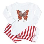 Kismet Butterfly Baby Pajamas
