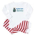 Mom Hunts Ghosts Boy New transparent Baby Pajamas