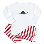 Sailfish fish Baby Pajamas