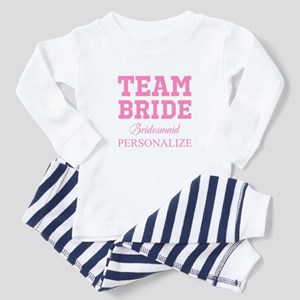 Team Bride | Personalized Wedding Baby Pajamas