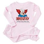 Bozo face Baby Pajamas