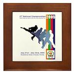 2005 Nationals Framed Tile