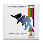 2005 Nationals Tile Coaster