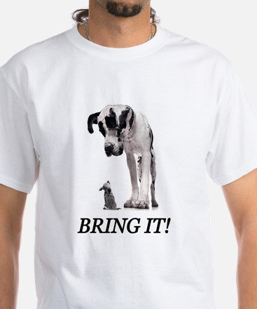 Bring It! White T-Shirt