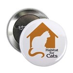 "Habitat For Cats 2.25"" Button (10 pack)"