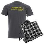 DicksCofHsYel Men's Charcoal Pajamas