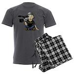 Spruce Films Men's Charcoal Pajamas