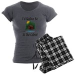 At The Cabin Women's Charcoal Pajamas