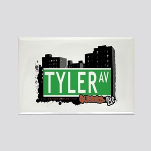 TYLER AVENUE, QUEENS, NYC Rectangle Magnet