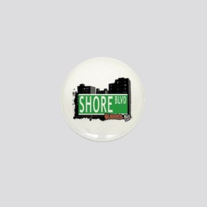 SHORE BOULEVARD, QUEENS, NYC Mini Button