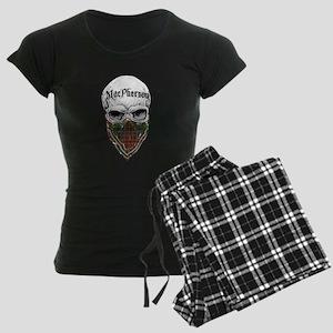 MacPherson Tartan Bandit Women's Dark Pajamas