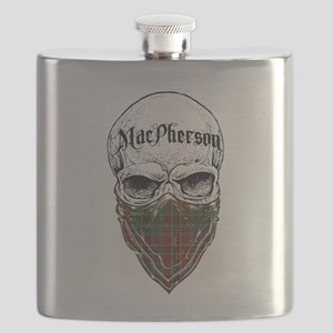 MacPherson Tartan Bandit Flask