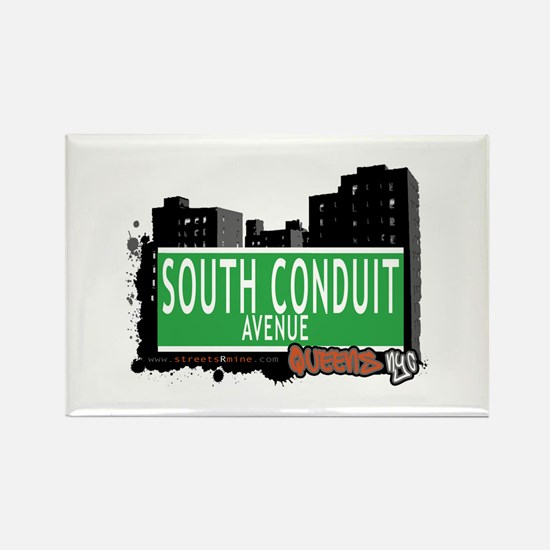 SOUTH CONDUIT AVENUE, QUEENS, NYC Rectangle Magnet