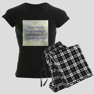 John 3:16 Dogwood Pajamas