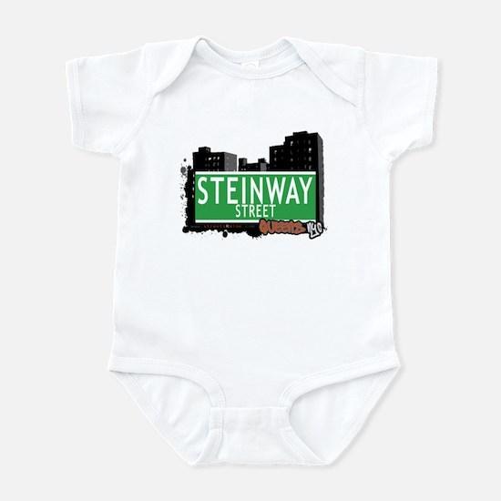 STEINWAY STREET, QUEENS, NYC Infant Bodysuit
