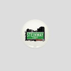 STEINWAY STREET, QUEENS, NYC Mini Button
