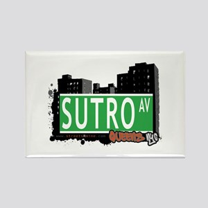 SUTRO AVENUE, QUEENS, NYC Rectangle Magnet