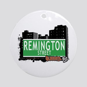 REMINGTON STREET, QEENS, NYC Ornament (Round)