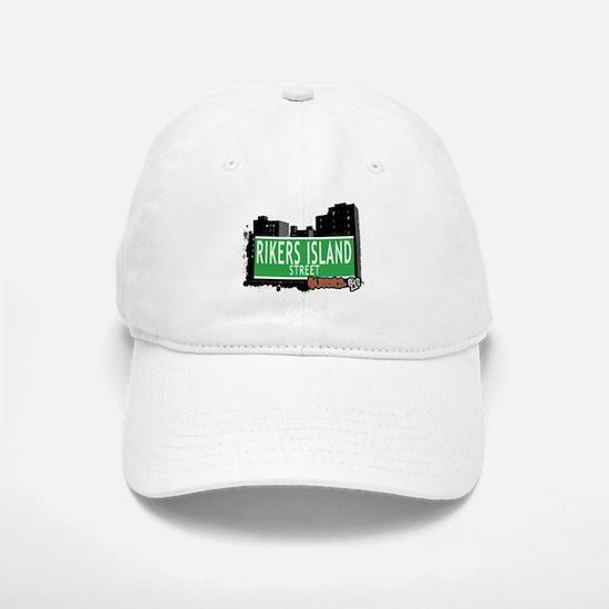 RIKERS ISLAND STREET, QUEENS, NYC Baseball Baseball Cap