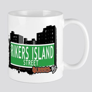 RIKERS ISLAND STREET, QUEENS, NYC Mug