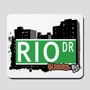 RIO DRIVE, QUEENS, NYC Mousepad