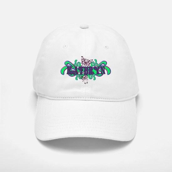Kathryn's Butterfly Name Baseball Baseball Cap