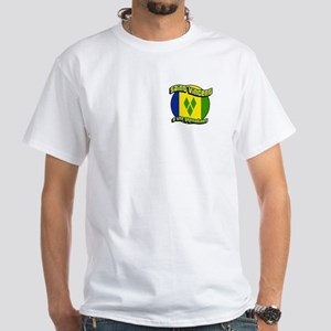 Saint Vincent & the Grenadines White T-Shirt