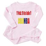 20 Julio Colombian day Infant Bodysuit