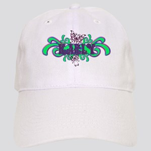 Karly's Butterfly Name Cap