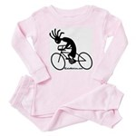 Kokopelli Road Cyclist Baby Pajamas