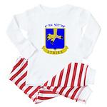 4/502 INF Baby Pajamas
