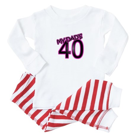 Dads 40th Birthday Cards Gifts Baby Pajamas