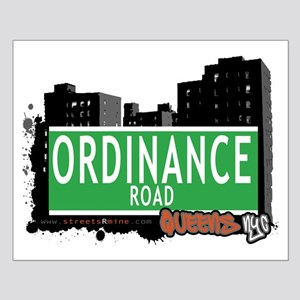 ORDINANCE ROAD, QUEENS, NYC Small Poster