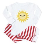 Cute happy sun Baby Pajamas