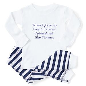 1d917b2a31c Eye Doctor Baby Pajamas - CafePress