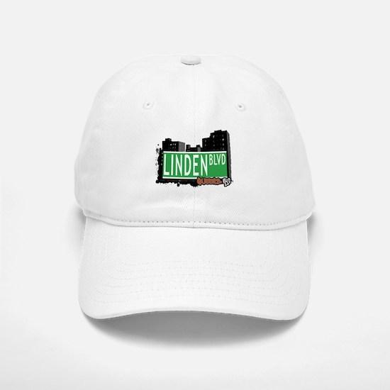 LINDEN BOULEVARD, QUEENS, NYC Baseball Baseball Cap