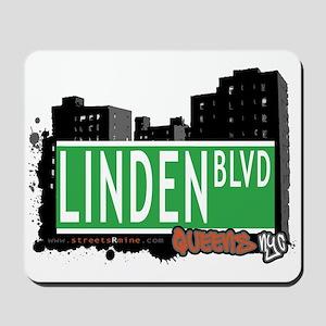 LINDEN BOULEVARD, QUEENS, NYC Mousepad