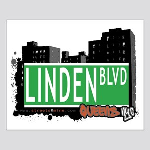 LINDEN BOULEVARD, QUEENS, NYC Small Poster