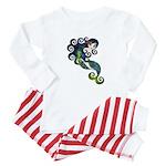 Aquamarine Baby Pajamas